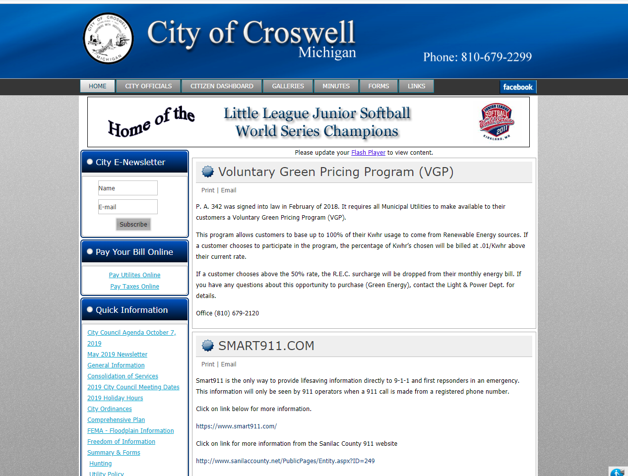 City Of Croswell